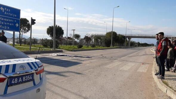 Fethiyede trafik kazası: 1 ölü, 1 yaralı
