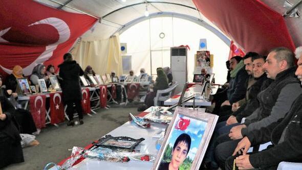 HDP önündeki eylemde 154üncü gün; aile sayısı 80 oldu