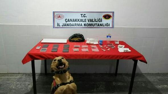 Çanakkalede uyuşturucu operasyonu: 7 gözaltı