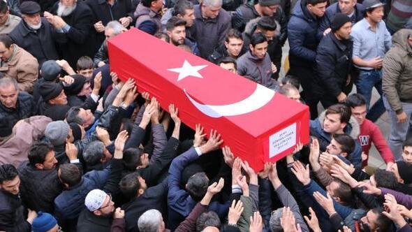 Şehit Uzman Onbaşı Gökhan Orhan, son yolculuğuna uğurlandı