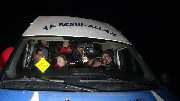 Kars'ta tipide mahsur kalan öğrenciler kurtarıldı
