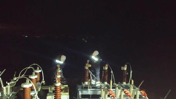 Marmara Adasına ana hattan elektrik verilmeye başlandı