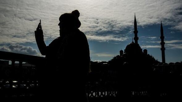 İstanbulda güneşin keyfini çıkardılar
