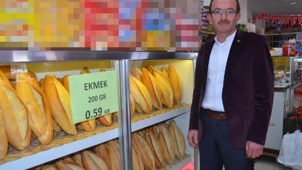 Kırşehirde ekmeği 59 kuruşa düşüren rekabet