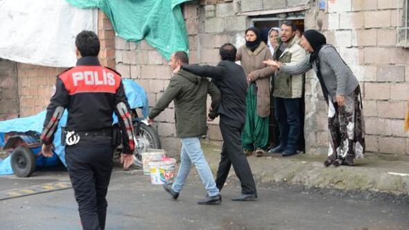 Diyarbakırda kuzenlere silahlı saldırı: 1 yaralı