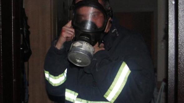 Dalgın öğrenci binayı yakıyordu