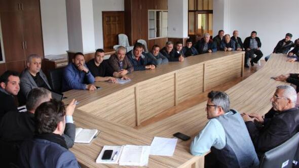 Finike ve Kumlucada ulaşım toplantısı