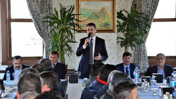 Başkan Eroğlu, belediye personeliyle bir araya geldi