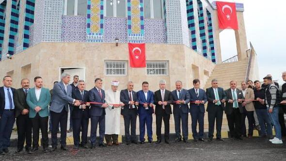 Filistinde bulunan Kubbet-us-Sahra camisinin benzeri, Reyhanlı'da ibadete açıldı