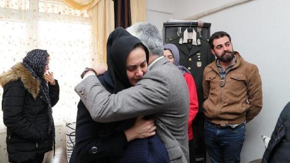 Vali Doğandan İdlib şehidinin ailesine taziye ziyareti