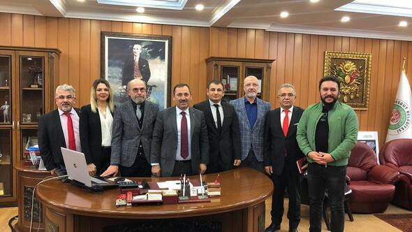 Başkan Demirel'e proje teşekkürü