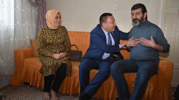 Başkan Beyoğlu, ev ziyaretlerini sürdürüyor