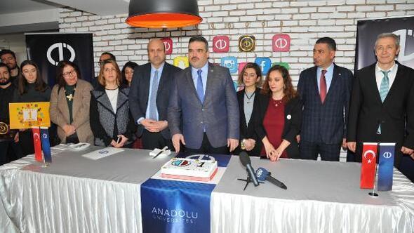 Anadolu Üniversitesi, sosyal medyada yükselişini sürdürüyor