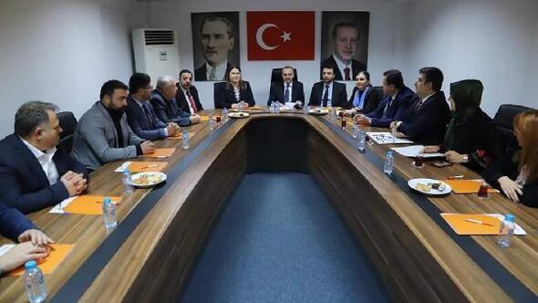 AK Partili Erkan Kandemir, Edirne'de incelemelerde bulundu
