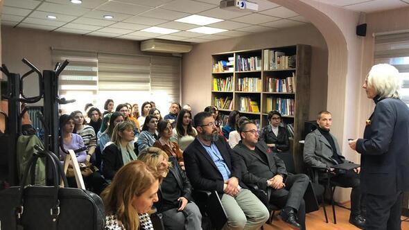 Ünlü İtalyan yazar Casa Italia'da