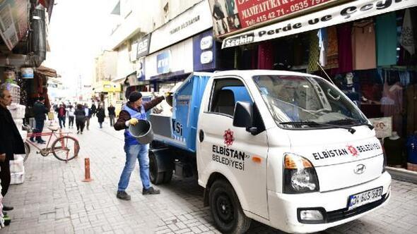 Elbistanda çöp taksiler hizmete başladı