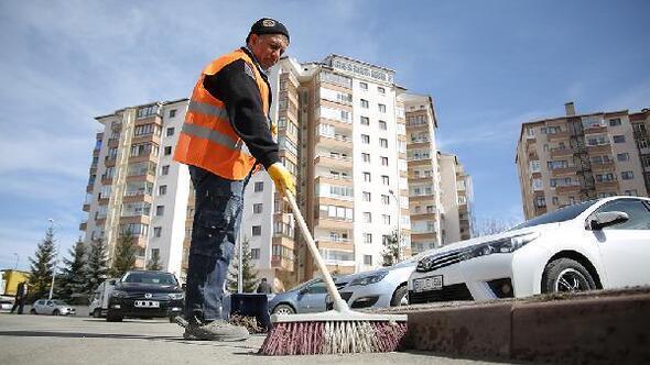 Belediyeden bahar temizliği