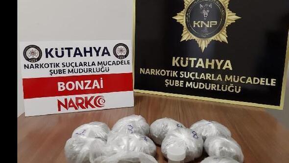 Kütahyada uyuşturucu operasyonu