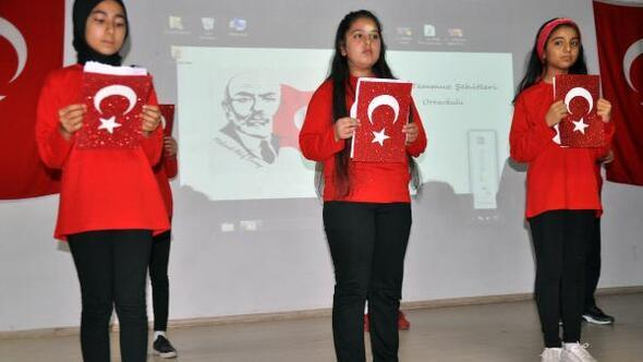 Kumlu'da İstiklal Marşı'nın kabulü ve Milli Şair Mehmet Akif Ersoy'u anma töreni