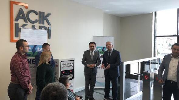 Yozgat'ta 'akülü sandalye şarj istasyonu' kuruldu