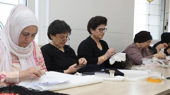 Kadınlardan kurslara yoğun ilgi