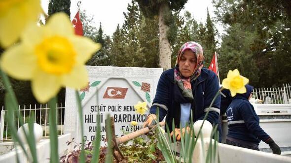 Adana Büyükşehir Belediyesinden mezarlık ve şehitlik çalışması