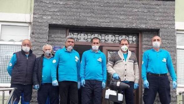 Kocasinanda kamu kurumları dezenfekte edildi