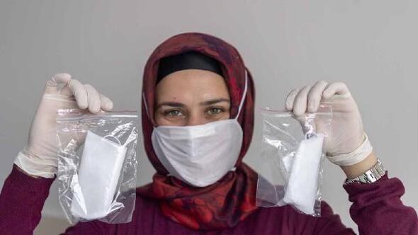 Kayseri Büyükşehir Belediyesi kendi maskesini üretiyor