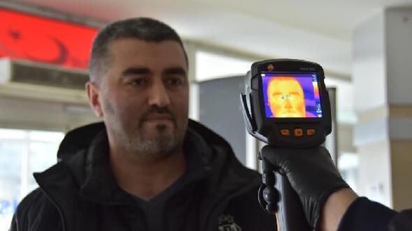 Kocasinan Belediyesinden koronavirüse termal kameralı önlem