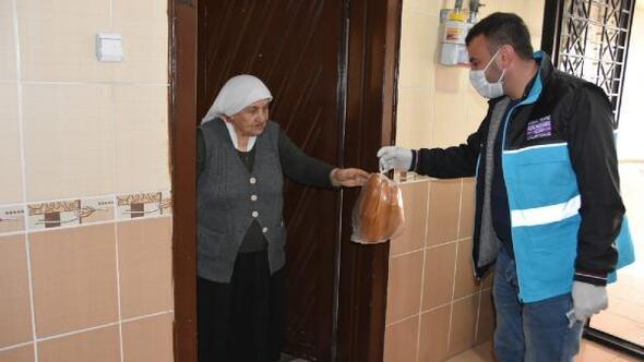 Kocasinan Belediyesi, yaşlıların ihtiyaçlarını karşılıyor