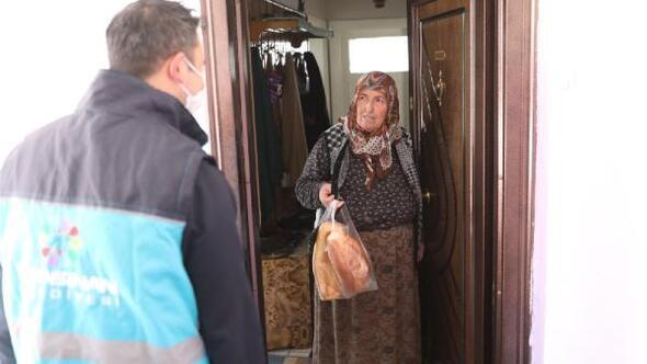 Kocasinan Belediyesi, 65 yaş üzeri vatandaşların ihtiyaçlarını karşılıyor