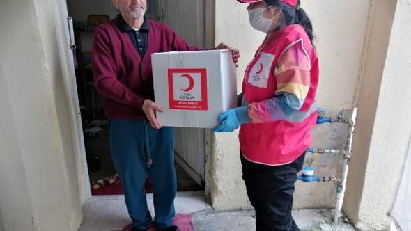 Türk Kızılay, koronavirüse karşı sahada