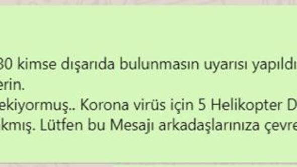 Antalyada helikopterli ilaçlama yalanı