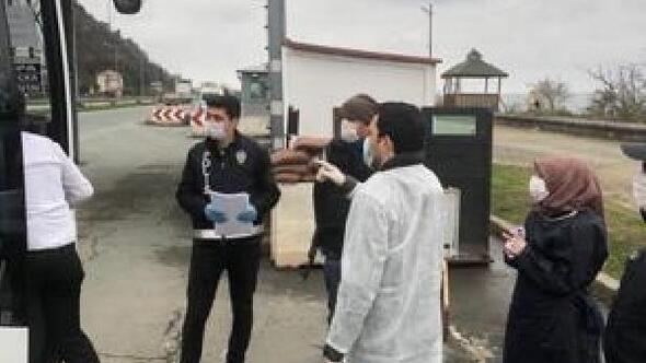 Rize'de, 'varış kontrol belgesi' uygulaması başladı