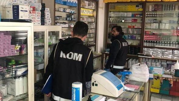 Malatyada sahte ürün satan medikallere operasyon