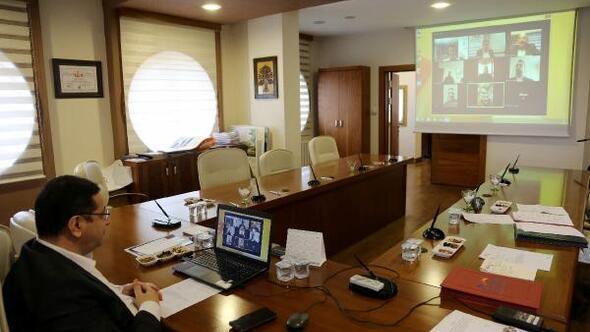 STSOdan video konferanslı toplantı