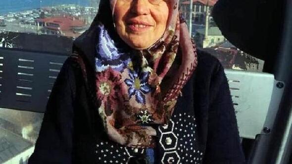 Trabzonda kamyonetin çarptığı kadın öldü