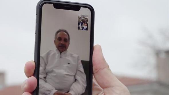 Başkan Yalçın, zabıta ekipleriyle görüntülü telefon görüşmesi yaptı