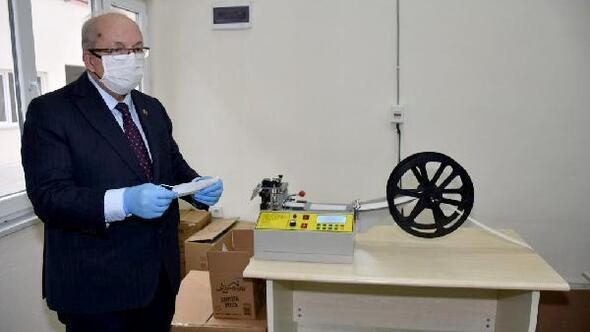 Tekirdağ Büyükşehir Belediyesi günde 5 bin maske üretimine başladı