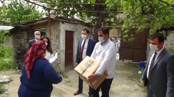 Vakıflar Bölge Müdürlüğüher ay 350 aileye gıda yardımı yapıyor