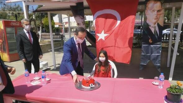 Şarköy'de, 23 Nisan'da doğan 7 çocuğun doğum günü kutlandı