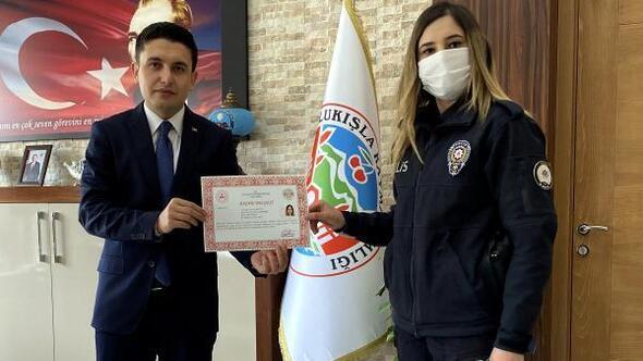 Ulukışlada polislere başarı belgesi verildi