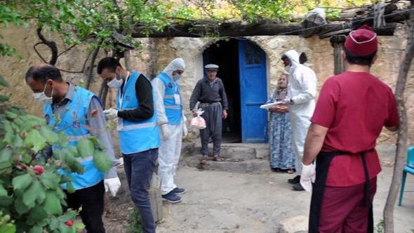 Derikte 80 aileye iftar dağıtıldı