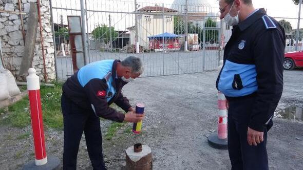 Aydın'da 'iftar topu' geleneği sürüyor