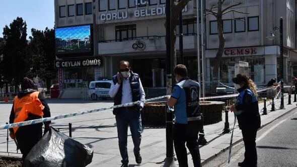 Çorlunun Cumhuriyet Meydanı yeniden kapatıldı