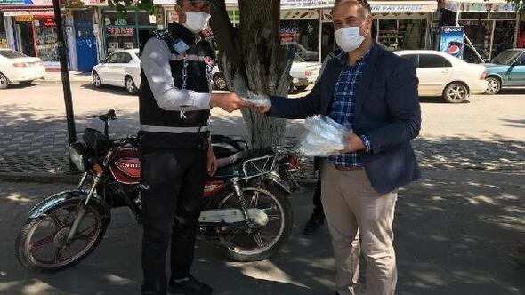 Kahtada maske üretimi devam ediyor