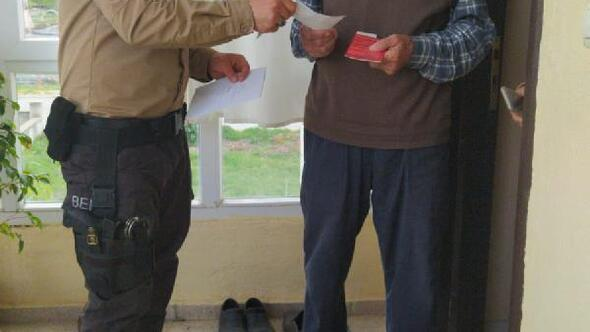 Milli Dayanışma Kampanyasına 5 bin lira bağışladı
