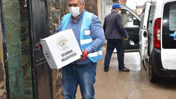 Siverek Belediyesinden 5 bin aileye gıda yardımı