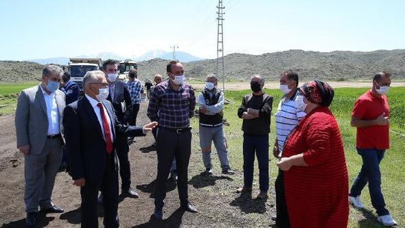 Başkan Büyükkılıç, 6 ilçeyi ziyaret etti