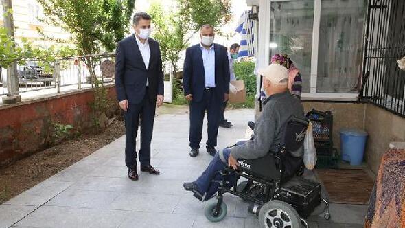 Başkan Eroğlu, engelli vatandaşları unutmadı